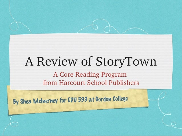 Story Town Review