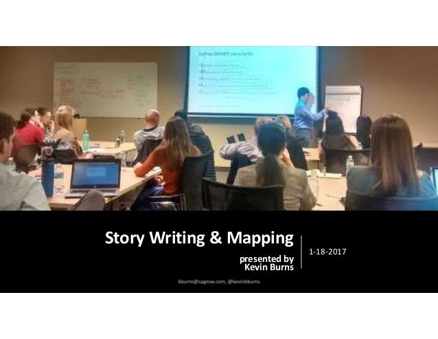 Story Writing & Mapping presented by Kevin Burns 1-18-2017