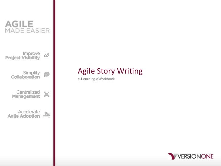 Agile Story Writing<br />e-Learning eWorkbook<br />