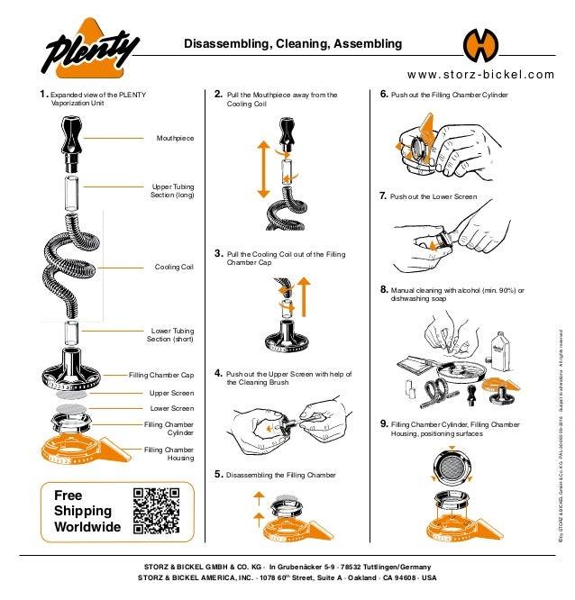 w w w.stor z - bi c kel.c om Disassembling, Cleaning, Assembling STORZ & BICKEL GMBH & CO. KG · In Grubenäcker 5-9 · 78532...