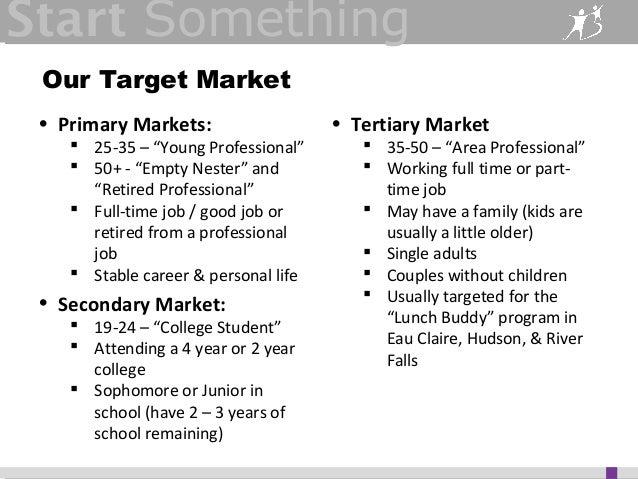 Stout Nonprofit Marketing Presentation