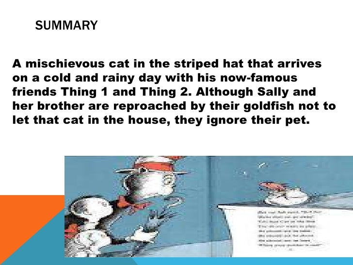The Cat In The Hat Story Summary