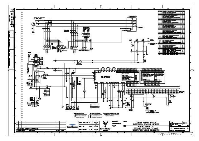 project 2 sewer treatment plant electrical drawings upgrade rh slideshare net electrical project diagram Home Electrical Wiring Diagrams