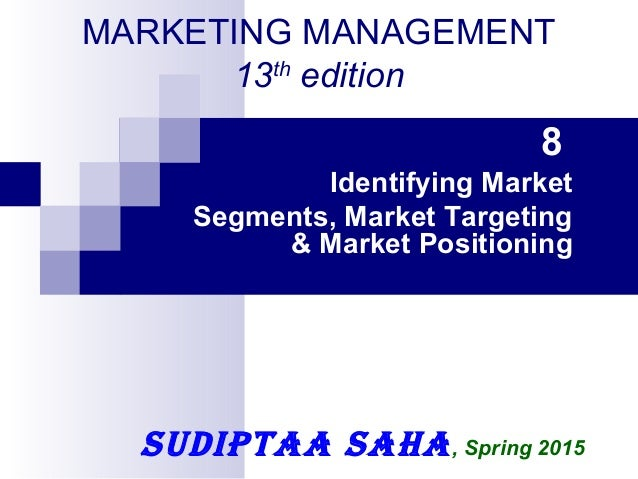 the conditions needed for the effective market segmentation In b2b marketing price usually is the final step  it is dependent on market conditions and is usually expressed as a function of market price • derived demand i in derived demand it is the demand of the chain  -- effective market segmentation this will depend on clear understanding of the.