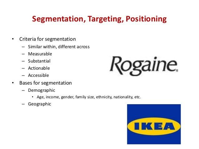 ikea segmentation