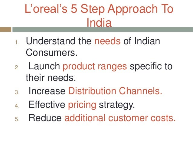 l oreal corporate level strategy Corporate-level strategy in order to ensure its product quality, l'oréal has to be more focused on product innovations, marketing, reputation and the price- performance ratio furthermore, they have to be aware of changes within the markets and progresses of competitors.