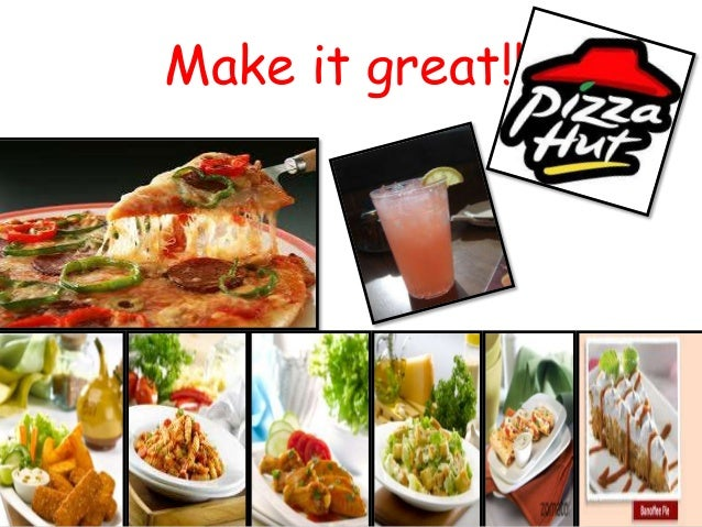 fast food industry study of pizza hut Major players in the fast food industry are mcdonalds dominos pizza pizza hut from economics 106 at university of delhi.