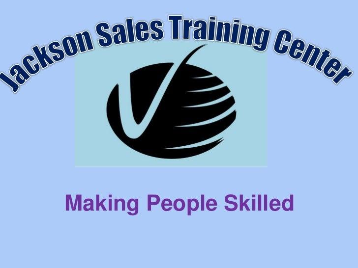 Making People Skilled