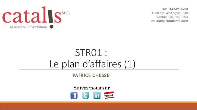 Str01   le plan d'affaires
