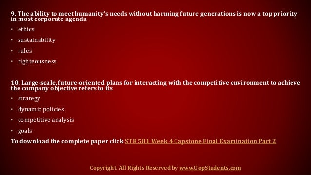 str 581 week 4 paper Str 581 week 4 strategic choice and evaluation paper if you want to purchase a work then click the link below , instant download http acehomeworkcom.