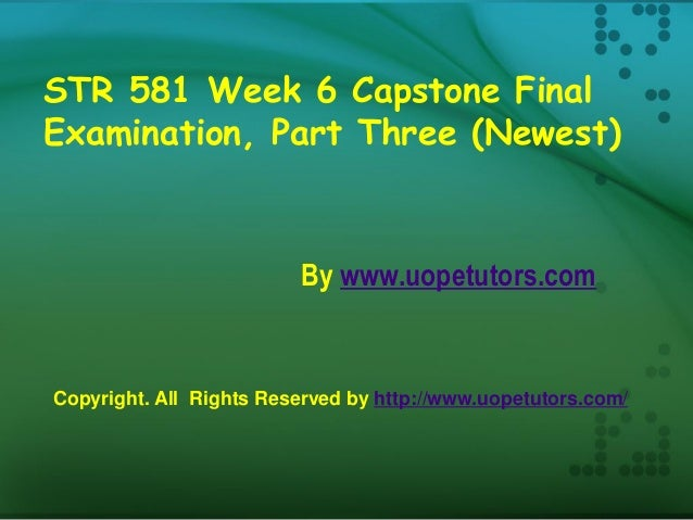 str 581 week 5 If you are not prepared for your str 581 week 5 mini strategy exams then studentwhiz experts will help you to clear your exam our experts.