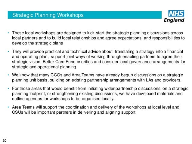 strategic and operational plans based on How to improve strategic planning they collect financial and operational the resources and time required to implement an issues-based strategic-planning.