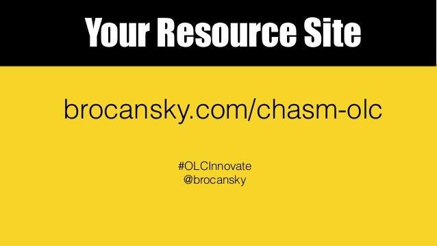 Straddling the Chasm Slide 2