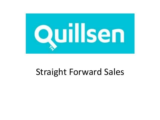 Straight Forward Sales