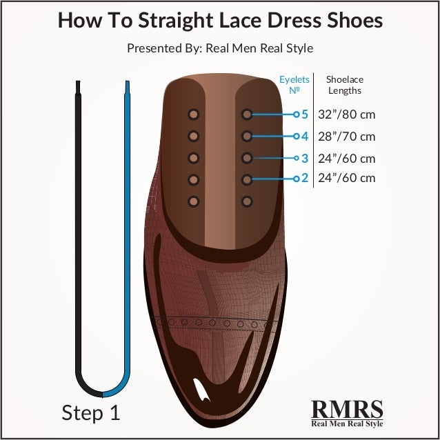 how to put shoe laces dress