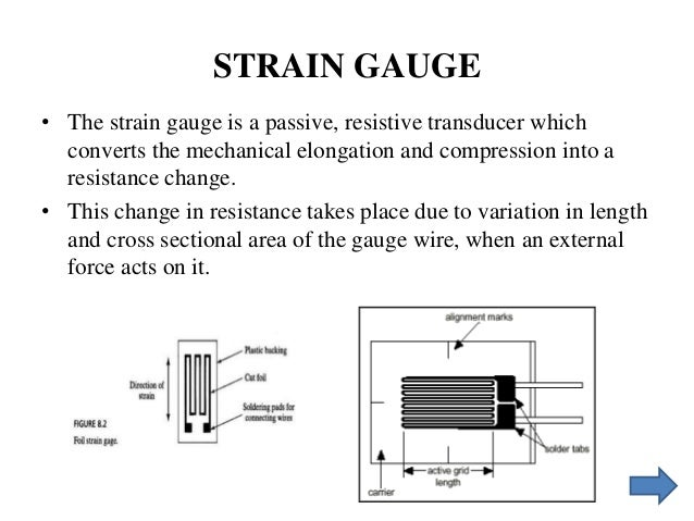 strain guage rh slideshare net potentiometer wiring diagram strain gauge \u2022 the strain gauge is a passive, resistive transducer which converts the mechanical