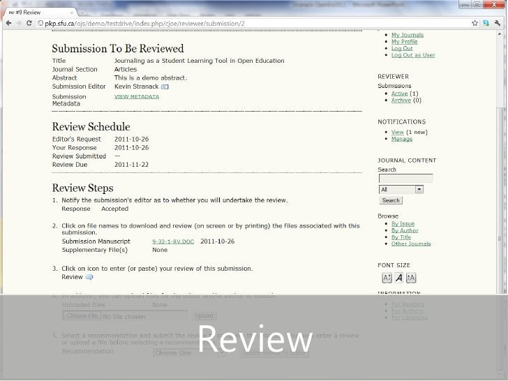 • Review slide                 Review