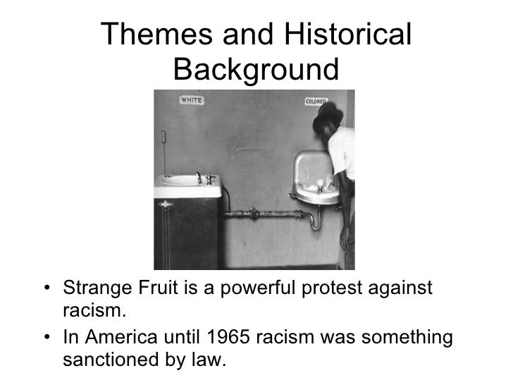 Strange Fruit Slide 2