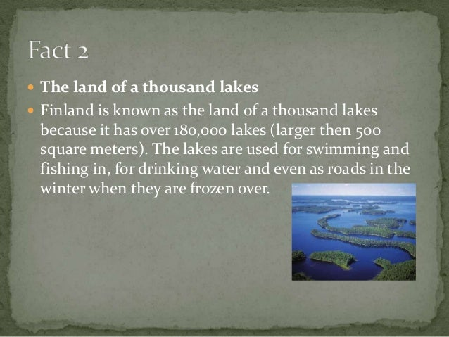 Lakes Used For Drinking Water