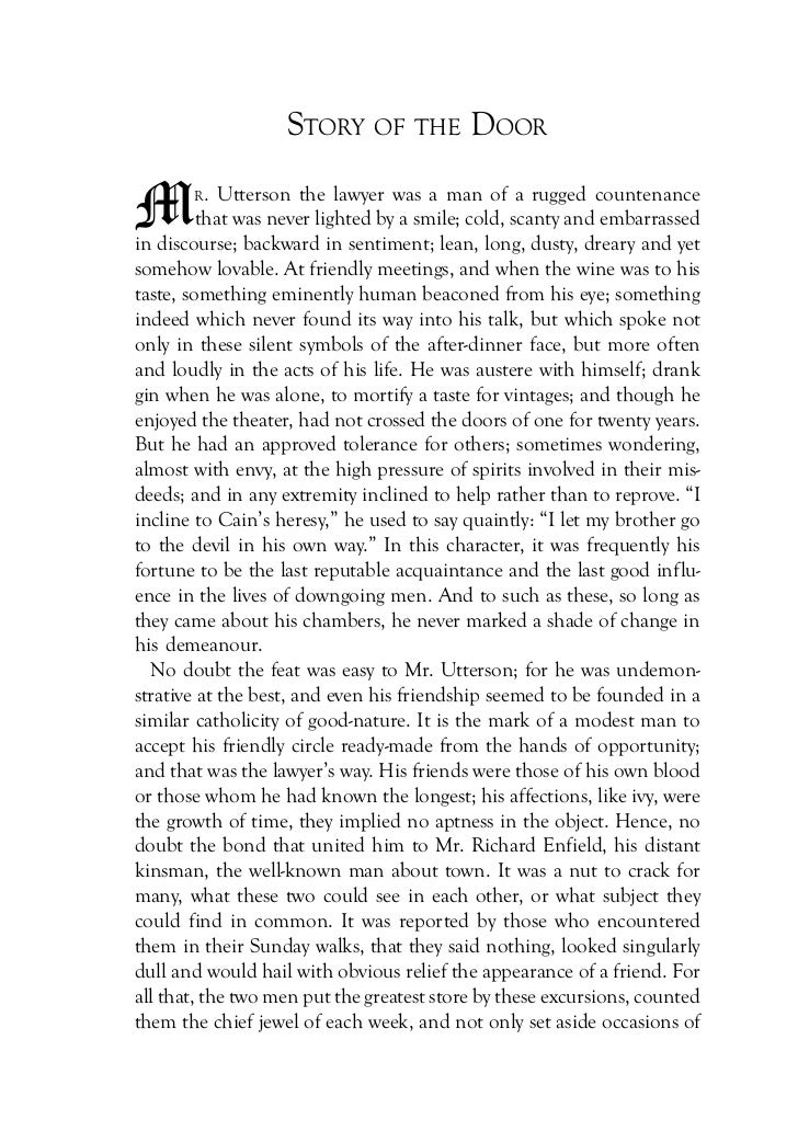 figures of speech in the strange case of dr jekyll and mr hyde Editorial reviews amazoncom review the young robert louis stevenson  suffered from  she calls dr jekyll and mr hyde a mythopoetic figure like  frankenstein,  language: english asin: b01mu3bnzw text-to-speech:  enabled.