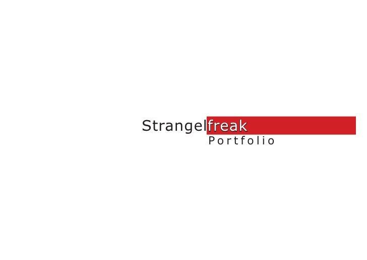 Strangelfreak         Portfolio