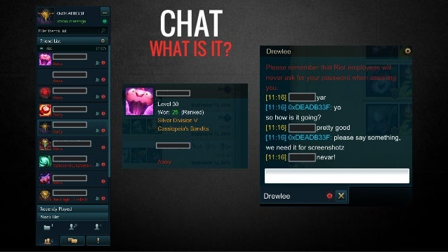 CHAT  WHAT IS IT?
