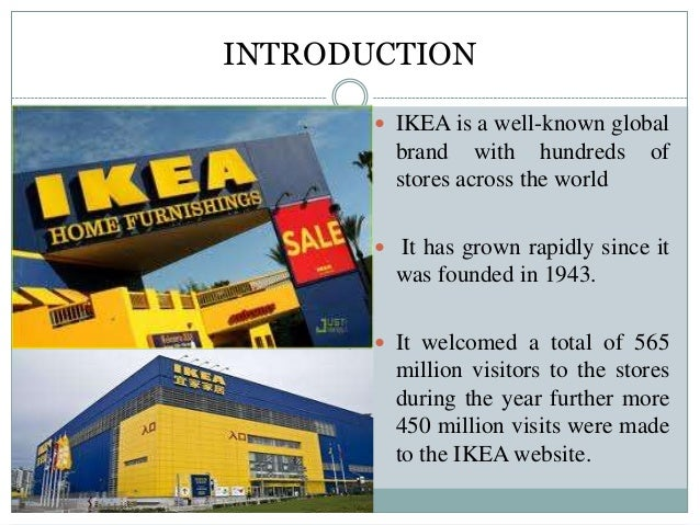 analysis ikea While ikea presents the message that its customer's visit to the store is a leisurely walkabout to look at furniture at the customer's own pace and direction, the customer's experience in the store is guided and directed from the moment the customer approaches the store until the.