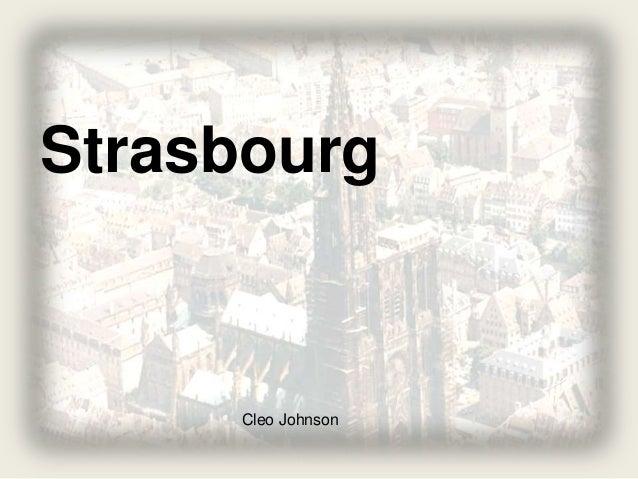 Strasbourg Cleo Johnson