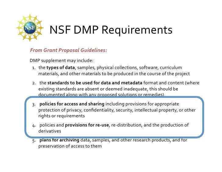 Data Management Plans Presentation For Data Governance Workshop