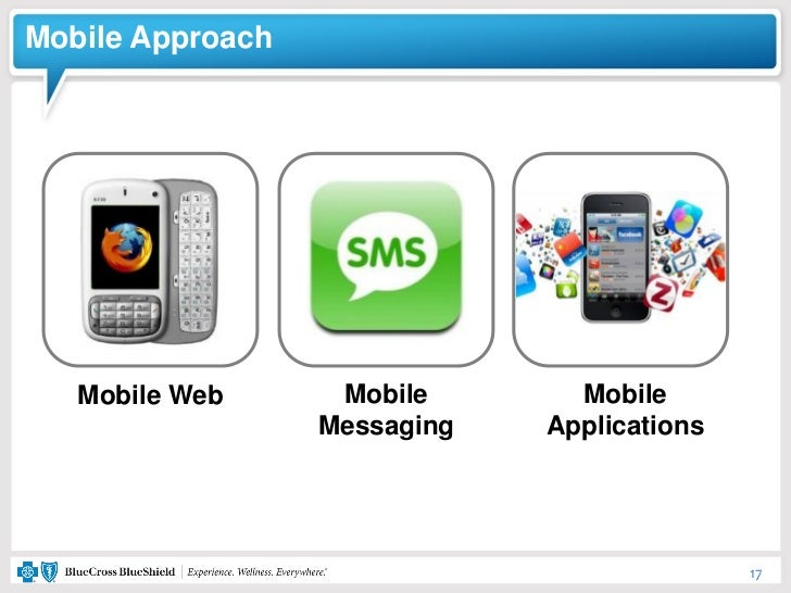 Mobile Approach   Mobile Web      Mobile       Mobile                  Messaging   Applications                           ...