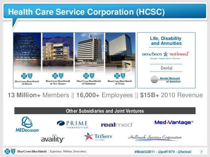Health Care Service Corporation (HCSC)                                                          Life, Disability          ...