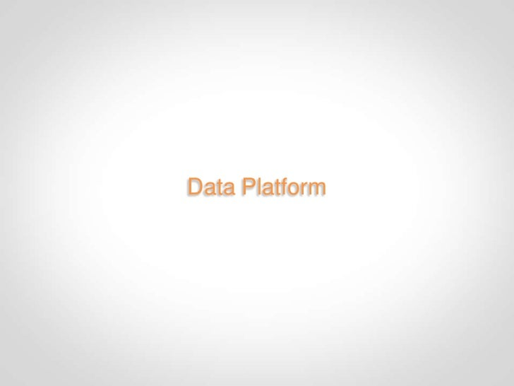 Infrastructure• Search   • Solr   • Incremental updates towards event driven• Recommendation/Graph   • Hadoop   • Native J...