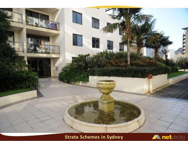 Strata Schemes in Sydney