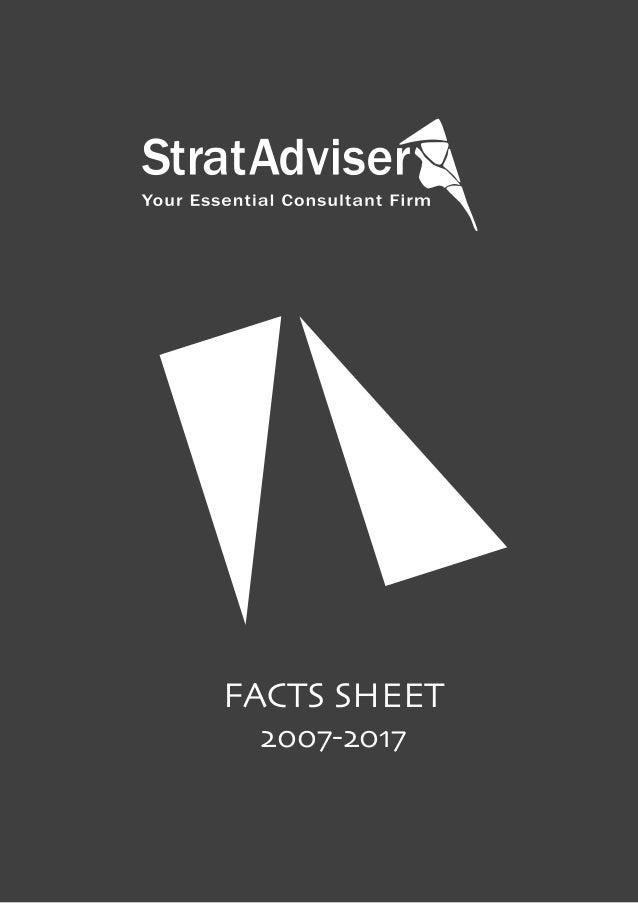 FACTS SHEET  2007-2017