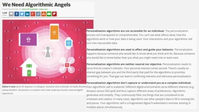 Algorithm ethics: The inevitable subjective judgments in analytics