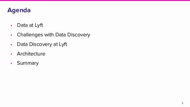 Disrupting Data Discovery Slide 2