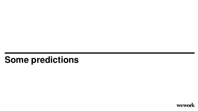 Some predictions