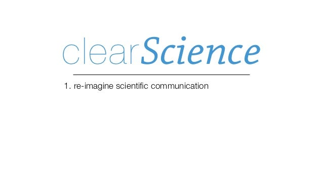 code      data    software    hardwareclear Science   a narrative that coherently interweaves   scientific assertions with ...