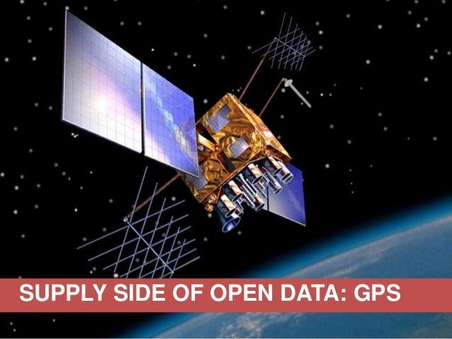 SUPPLY SIDE OF OPEN DATA: GPS