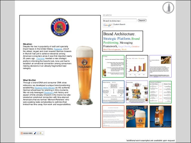 """Brand Architecture  Situation:! Budweiser was no longer the """"King of Beers"""" in Orange County and sales had been declining ..."""