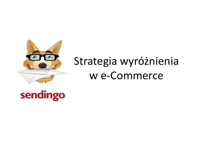 Strategia wyróżnieniaw e-Commerce