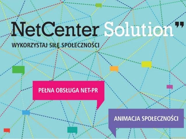 NetCenter SolutionJak przygotować strategiękomunikacji na fanpagea?   Kilka praktycznych porad