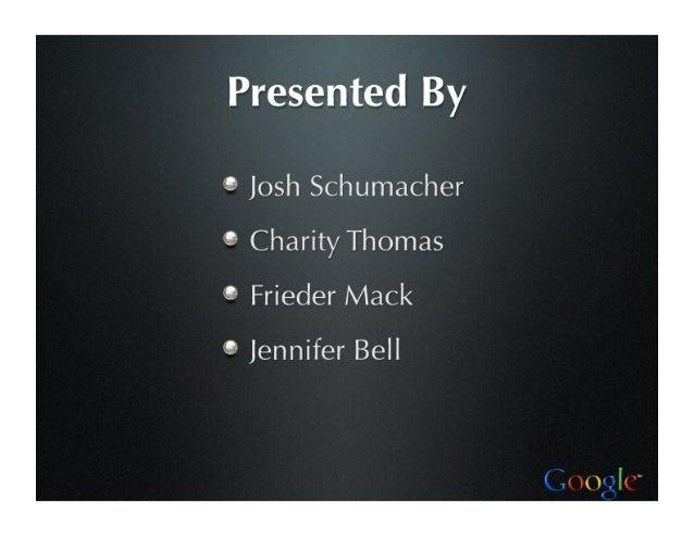 Strategic Analysis: Google Slide 2