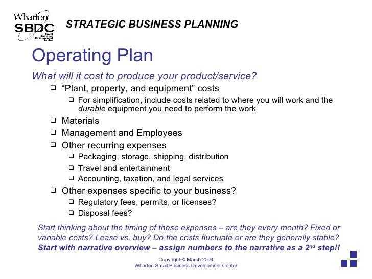 Strategic Plan Part 2: Internal Environmental Analysis