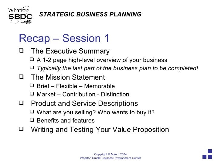 What Are The Four Major Parts Of A Business Plan