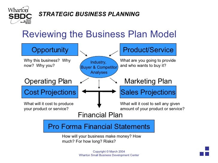 Pro forma business plan definition