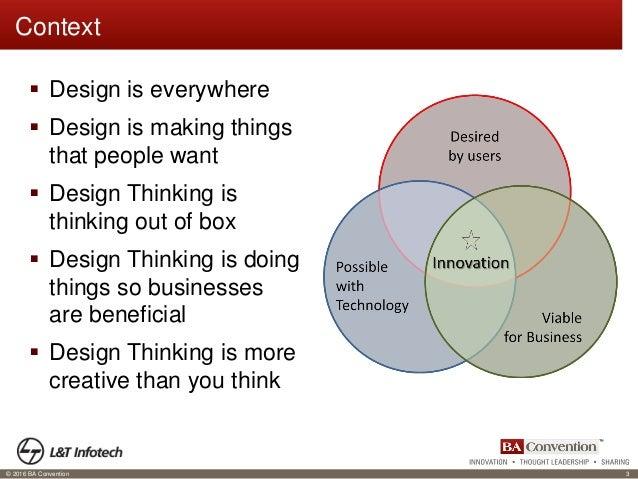Strategic business transformation ba role in design thinking for Strategic design company