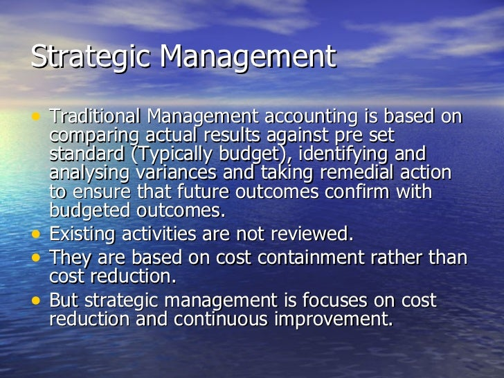 strategic cost management Mgmt study material created/ compiled by - commander rk singh rajeshsingh_r_k@rediffmailcom page 1 of 27 - strategic cost management jamnalal bajaj institute of mgmt studies.