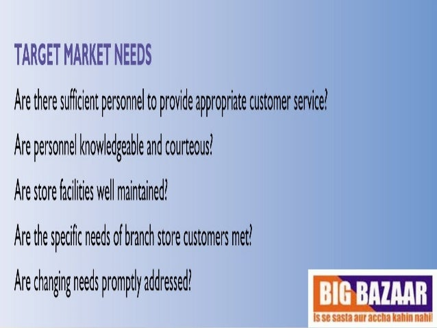 inventory control on big bazaar 2015-3-23  competitive advantages of big bazaar india marketing essay  big bazaar's key strengths include wide range of  hi-tech inventory, computerized billing,.