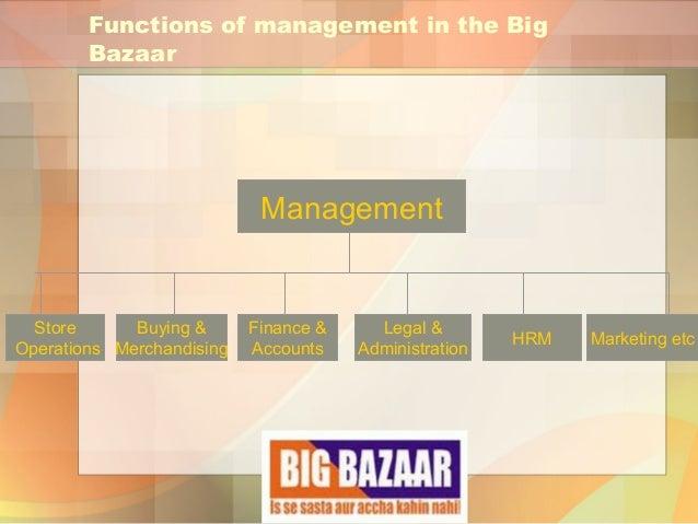 operational strategies of big bazaar Bazar customer services of big bazaar basic marketing strategy of big bazaar   is a need to govern retail operations through a single apex body a single.